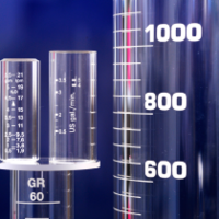 Manufacture of graduated cylinders for the highest standards