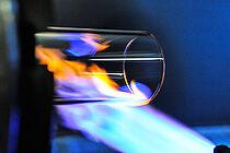 Flammbearbeitung von Glasrohren