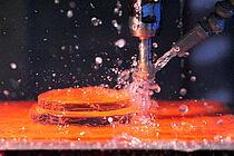 Modern CNC machining technology of Glastechnik Kirste KG
