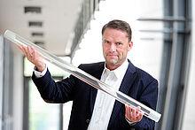 Bernd Kirste, Geschäftsführer der Glastechnik Kirste KG