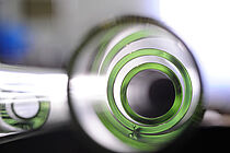 Glasrohre in der Fertigung bei der Glastechnik Kirste KG