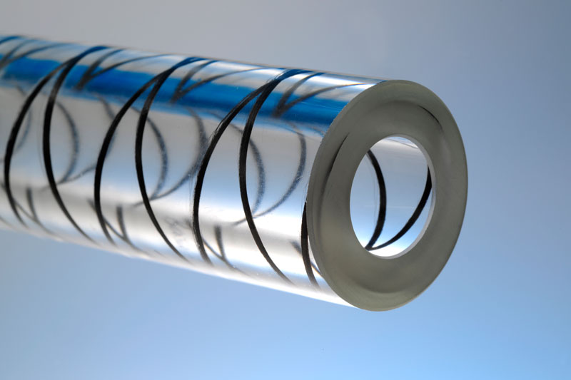 Laminated glass tube for use as a pressure-resistant glass tube